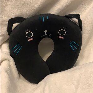 Kids Neck Pillow Kitty Cat!